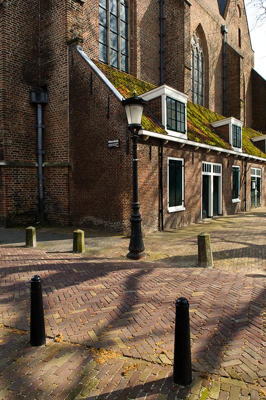 Huisjes, westzijde Jacobikerk, Utrecht