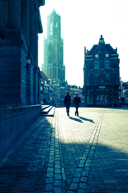 Dom in tegenlicht, Utrecht