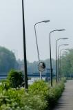 Ritmische straatverlichting Kanaalweg