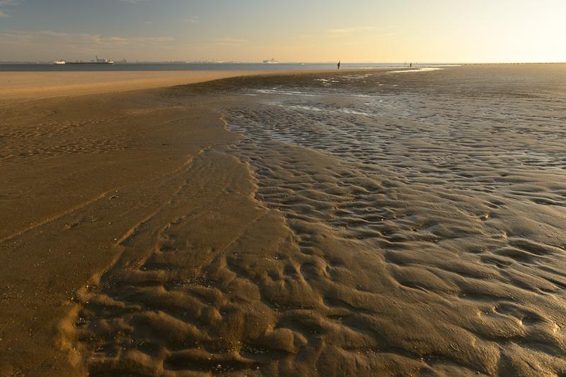 Strand bij Nieuwesluis